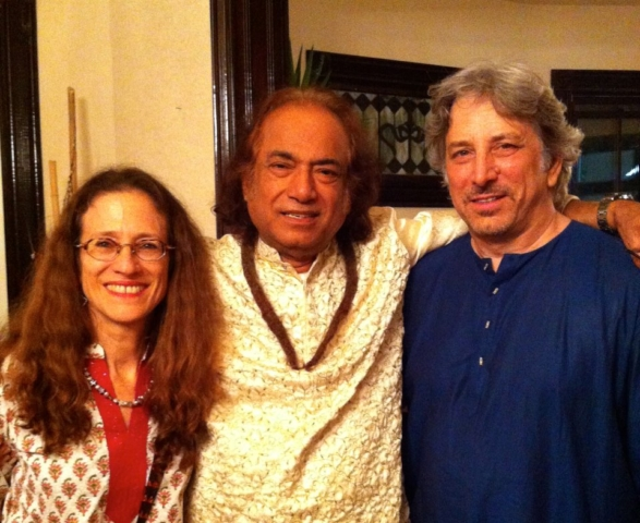 With Aashishda and Rick Henderson