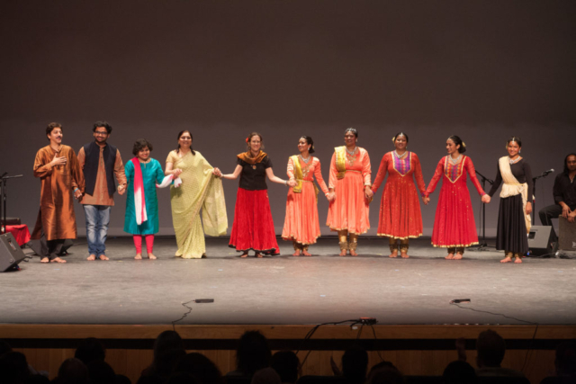 Improvisation Across Continents with Kathak Rhythms Dancers