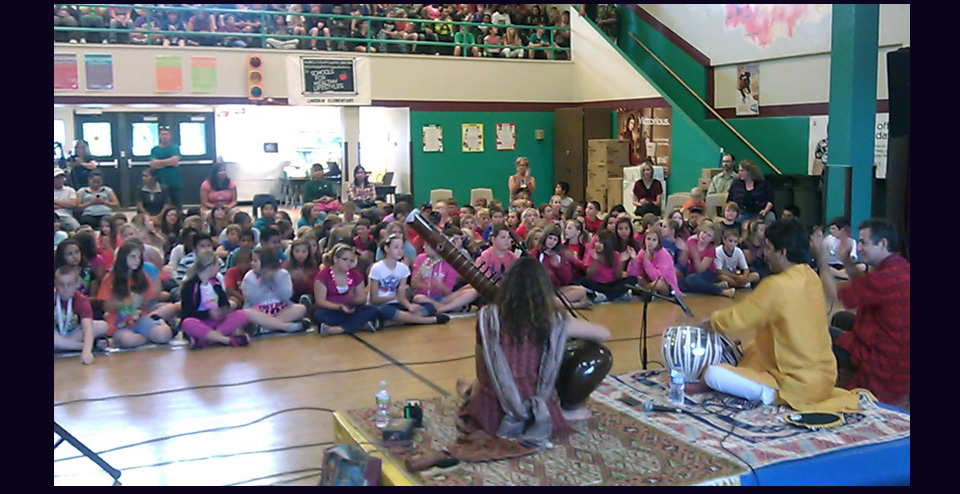 Sangeet Millennium at Lincoln Elementary in Chickasha, OK