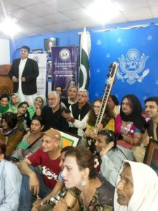 Transgender Music Therapy Workshop in Lahore, Pakistan